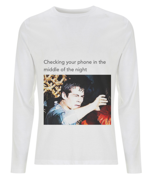 Reaction meme 40 Men's Long Sleeve T-Shirt