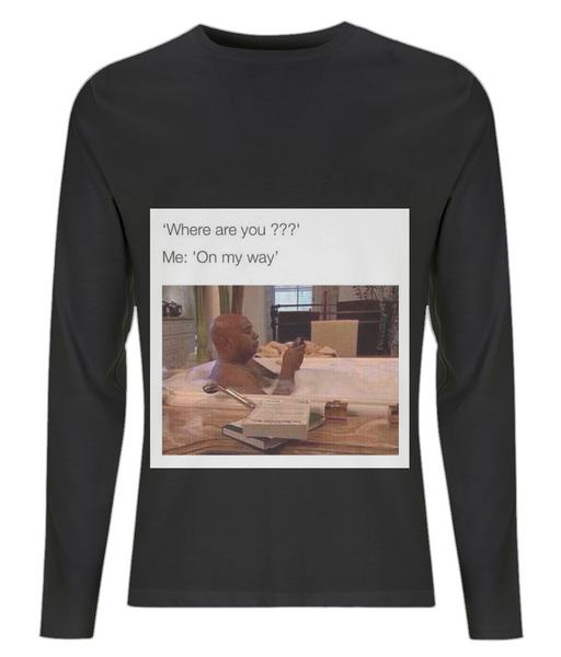 Reaction meme 5 Men's Long Sleeve T-Shirt