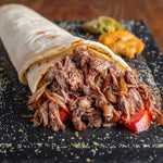 Pulled Lamb Wraps