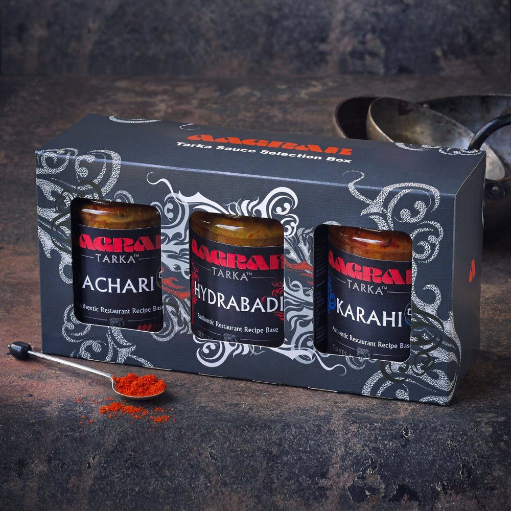Aagrah Tarka Sauce 3-Pack Selection Box