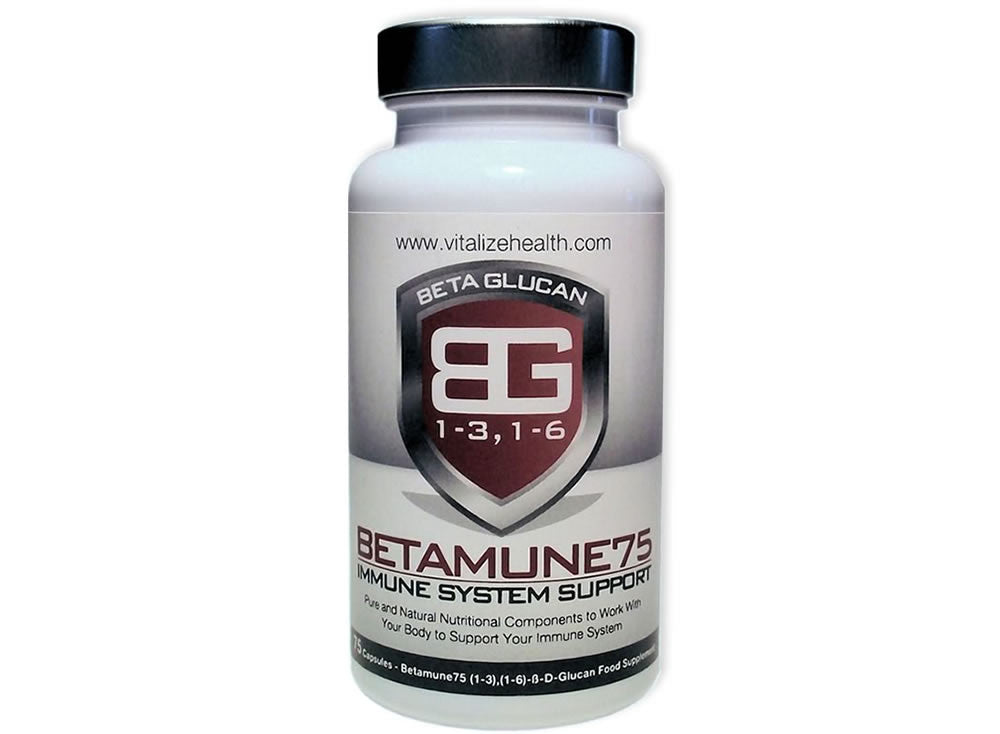 One 75 Capsule Betamune75 tub - Vitalize Health Products Ltd
