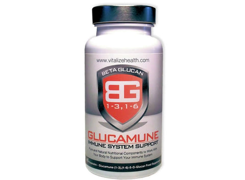 One 45 capsule Glucamune Tub - Vitalize Health Products Ltd