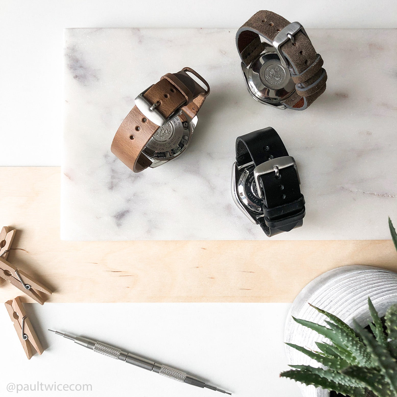 black-horween-leather-watch-strap