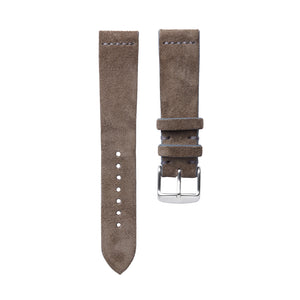 Hunting Grey Suede Watch Strap