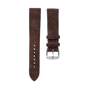 Mocha Suede Watch Strap