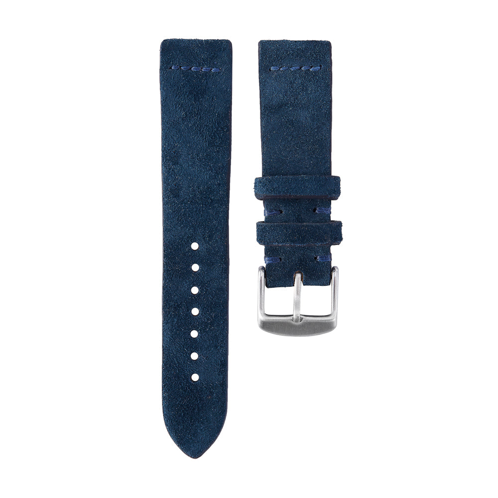 Navy Suede Watch Strap