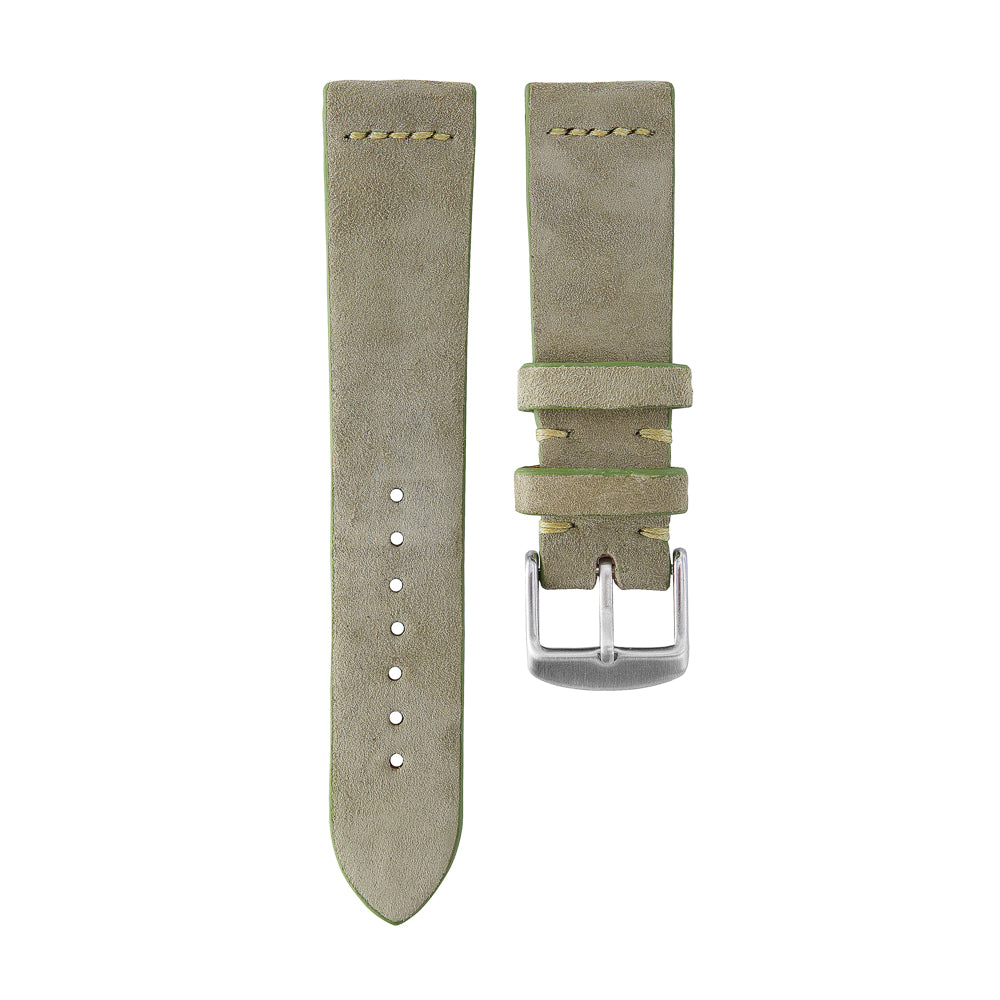 Olive Suede Watch Strap