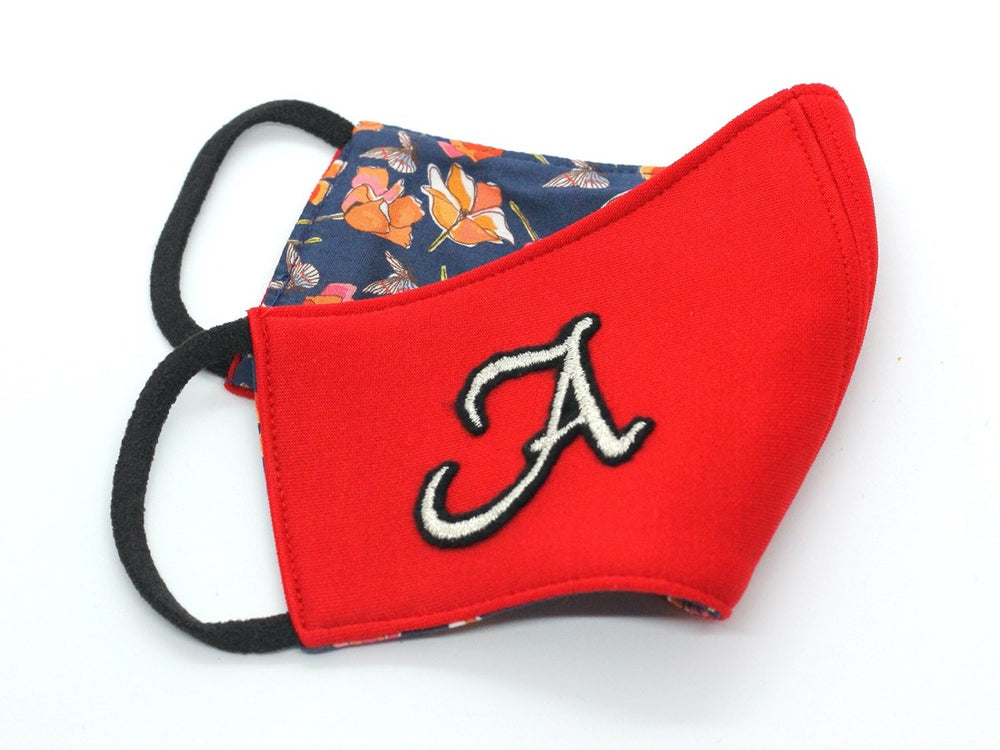 KIDS (3+) - Red With Silver Monogram (HBC-7)