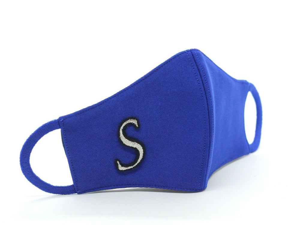 KIDS (3+) - Blue With Silver Monogram (HBC-8)