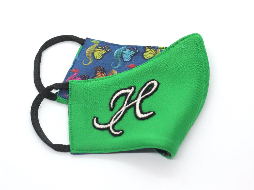 KIDS (3+) - Emerald With Silver Monogram (HBC-8)