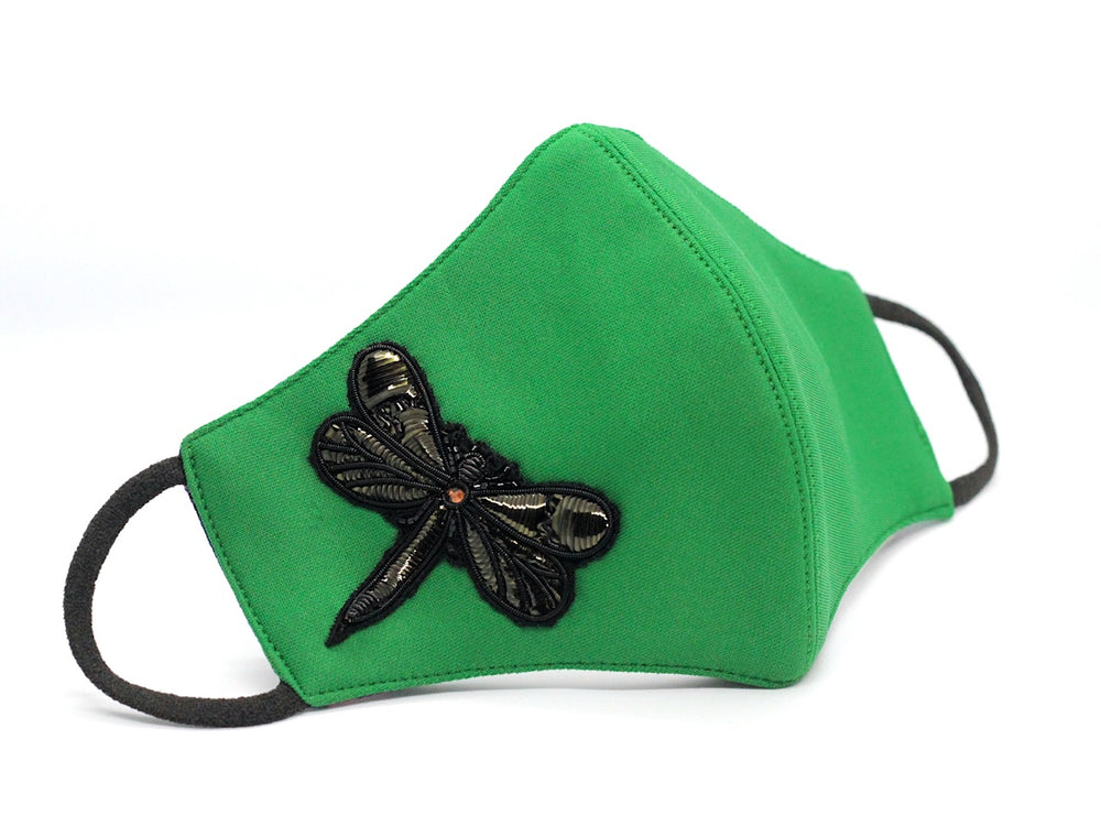 DragonFly Black on Green - (HBF-23)