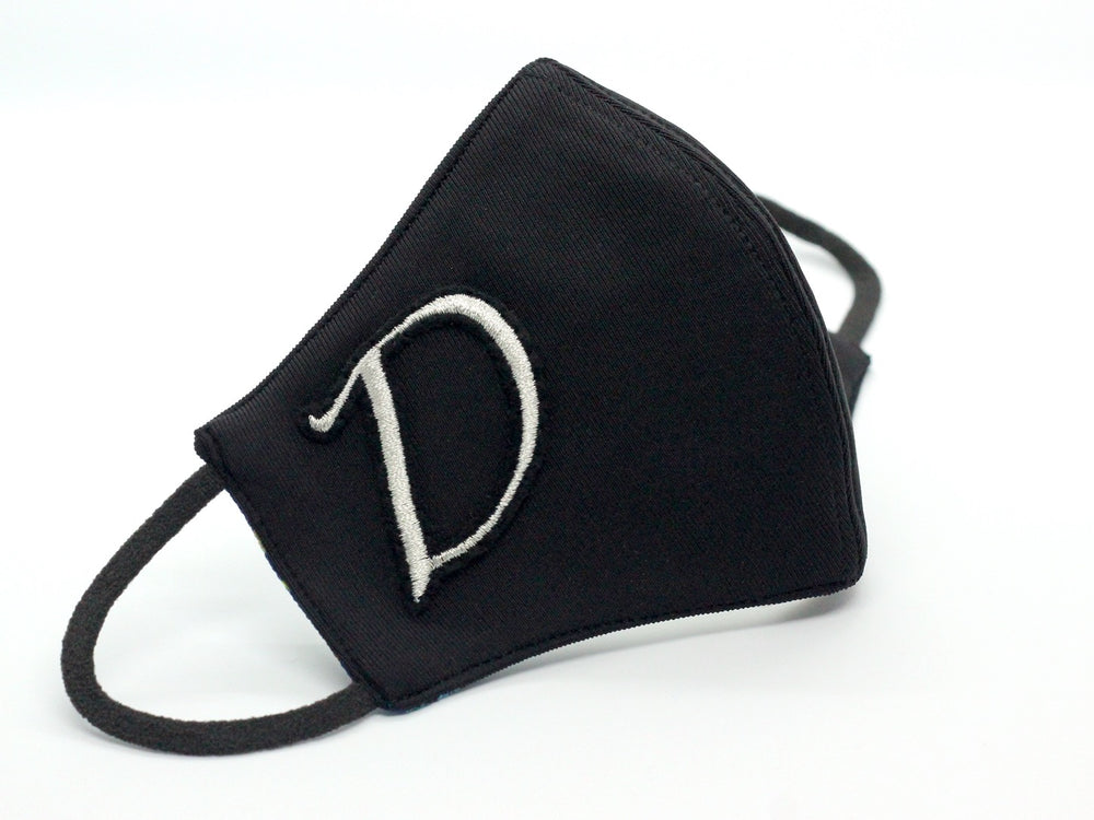 Black With Silver Monogram (HBF-31)