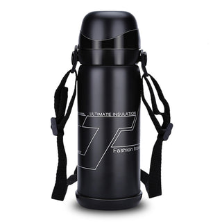 800ml Stainless Steel Vacuum Insulated Bottle Outdoor Sports Flask Durable Thermal Coffee / Water Kettle For Indoor Outdoor Use