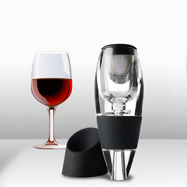 Wine Aerator Decanter Set Family Party El Fast Aeration Wine Pourer Magic Decanter Fp8