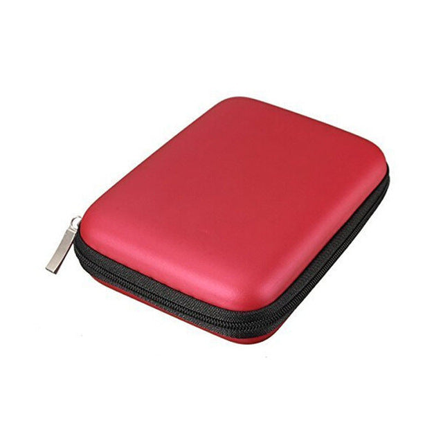 Hand Carry Case Cover Pouch For 2.5 Inch Power Bank Usb External Hdd Hard Disk Drive Protect Protector Bag Fp8