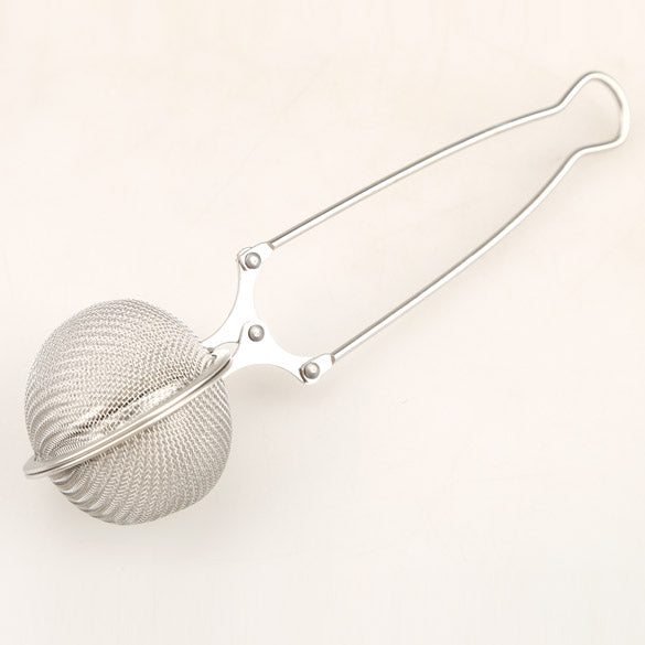 Helpful Stainless Steel Tea Pot Infuser Strainer Ball Mesh