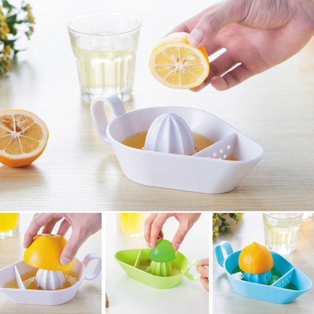 Design Juicer Tool Lemon Squeezer Citrus Juicer Manual Kitchen Fruit Expresser Juice Separator Tool