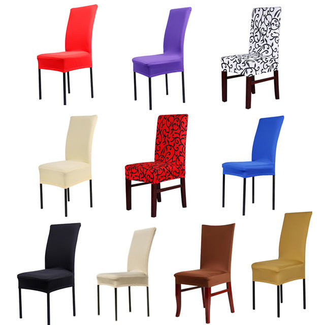 Seatcover Multicolor Optional Soft Contracted El Home Elastic Chair Cover For For Wedding Party