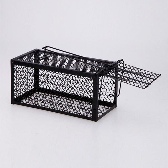 Single Door Rat Cage Home Mice Killer Rodent Animal Trap Catch Bait Mouse Control Hamster Cages Fp8