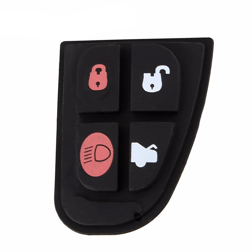 1 Pcs Remote Key Fob 4 Button Rubber Key Pad  Switch Repair Replace Kit Accessories For Jaguar X Type XF S XJ XK TYPE - PallMart