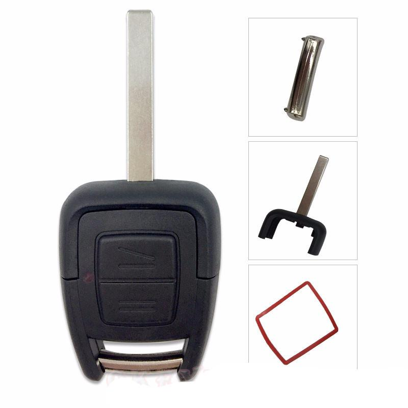 Black Replacement Remote Plastic Metal Car Key Shell Fob Case Shell Housing For Opel Astra Vectra Zafira Omega - PallMart