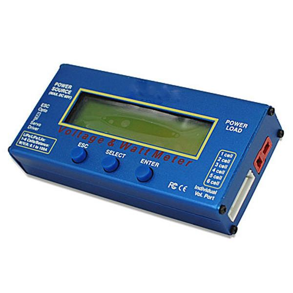 Digital 60V 100A Balance Voltage Power Analyzer Watt Meter Balancer Charger RC Tools