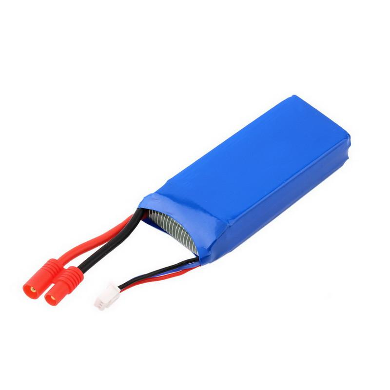 Syma X8C X8W 7.4V 2000mAh 25C Lipo Battery RC Quadcopter Spare Parts Round Adaptor