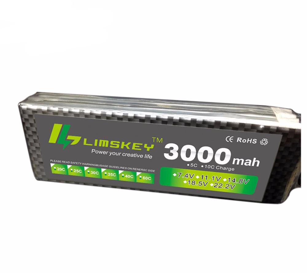 Limskey Power 3S 11.1v 3000mah Lipo Battery 30c For Helicopter Four Axis RC Car Boat Power T XT60 JST Plug 3s Lipo Battery 11.1 - PallMart