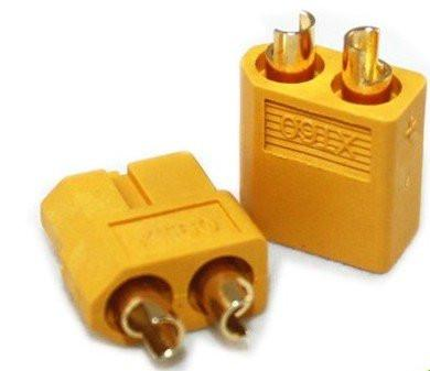 10 Pairs XT60 Bullet Connectors Plugs Male/Female RC Lipo - PallMart