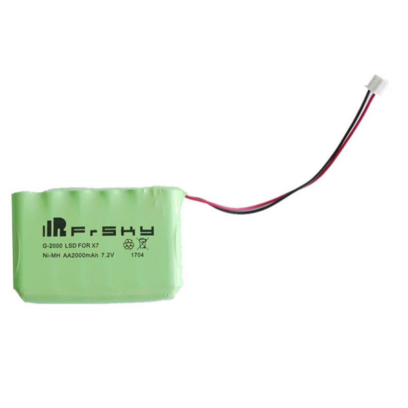 Frsky ACCST Taranis Q X7 Transmitter Spare Part 7.2V AA 2000mAh Remote Control NiMH Battery For RC Models Drone - PallMart