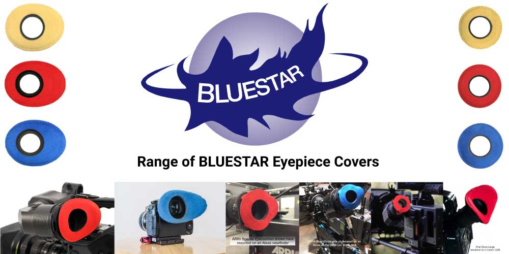 BlueStar Eyepiece Covers | Camera eyepiece cover | Arri, Sony, Alexa, Red