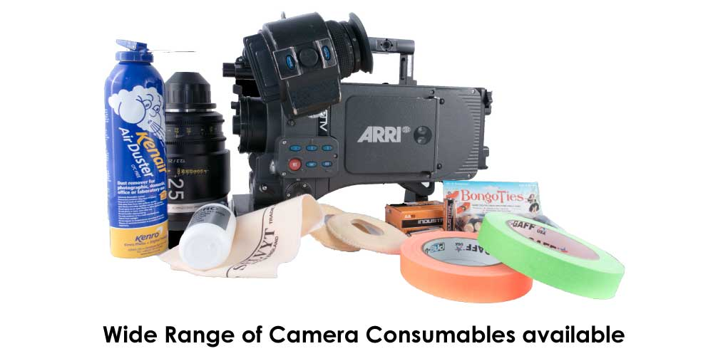 Camera Consumables | Expendables | CineStore