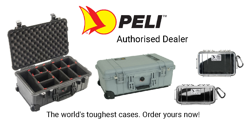 Peli Cases for camera assistants and equipment