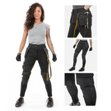 Dirty Rigger Ladies Slim Fit Work Trousers Montage