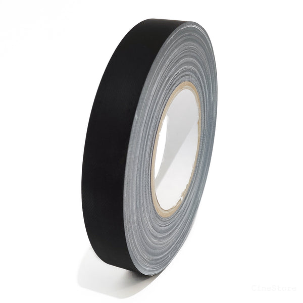 Matt Gaffer Tape 25mm Black