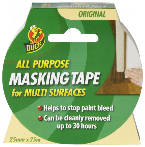 Duck Tape All Purpose Masking Tape Beige 50mm x 50m