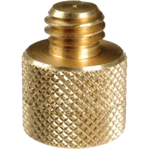 "Manfrotto 088 -   Brass adapter 1/4 "" to 3/8"""