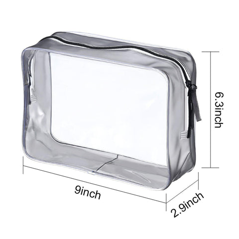 Clear PVC Toiletry Pouch