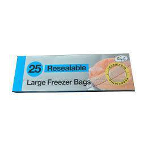 Large Freezer Bags (Pack of 25)
