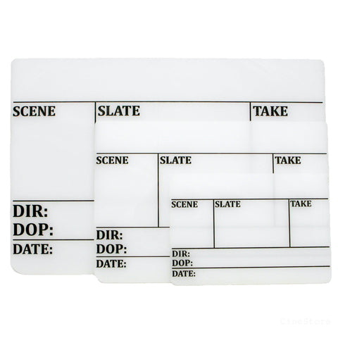 Replacement Clapperboard, Slate - CineStore