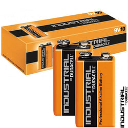 PP3 (9v) Duracell Industrial Battery (x10)