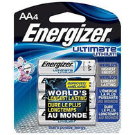 Energizer AA Lithium Batteries (4 Pkt)
