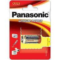 CR123 Lithium Cell 3V (Panasonic)