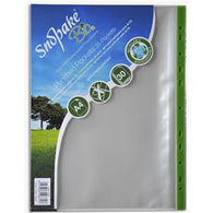 Snopake Bio Punched Pockets A4 Clear (Pack 25)