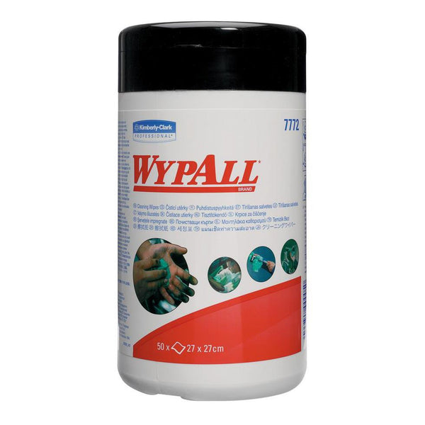 Wypall (7772) Cleaning Wipes Tub