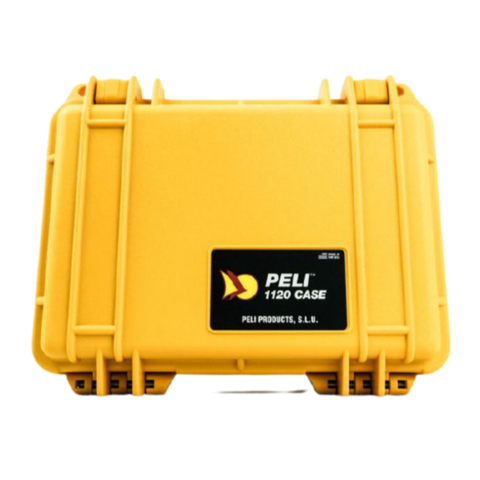 Peli 1120 Protector Case - Yelow - With Foam