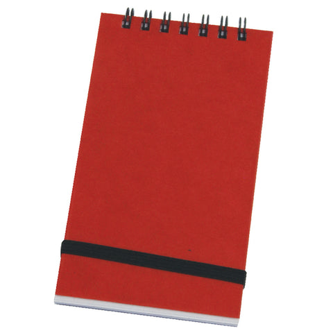 Silvine Notebook - Red Cover 96 Leaf - 76X127mm