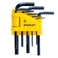 STANLEY 8-PIECE HEX KEY SET  - IMPERIAL