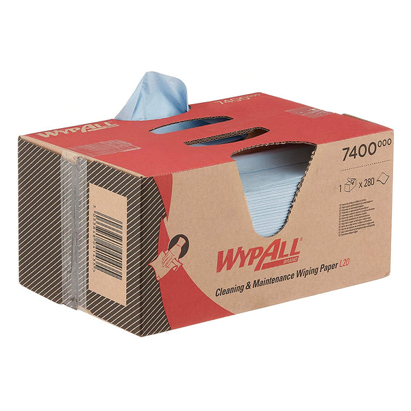 Brag Box - Wypall L20 Wipers 7400