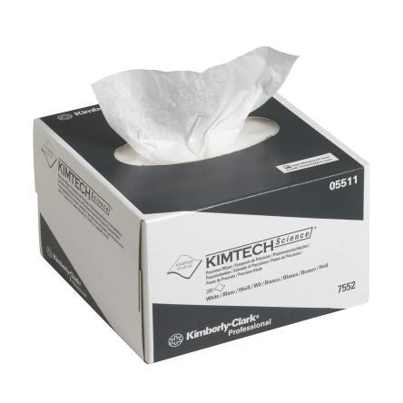 Kimtech 7552 Precision Wipes - White